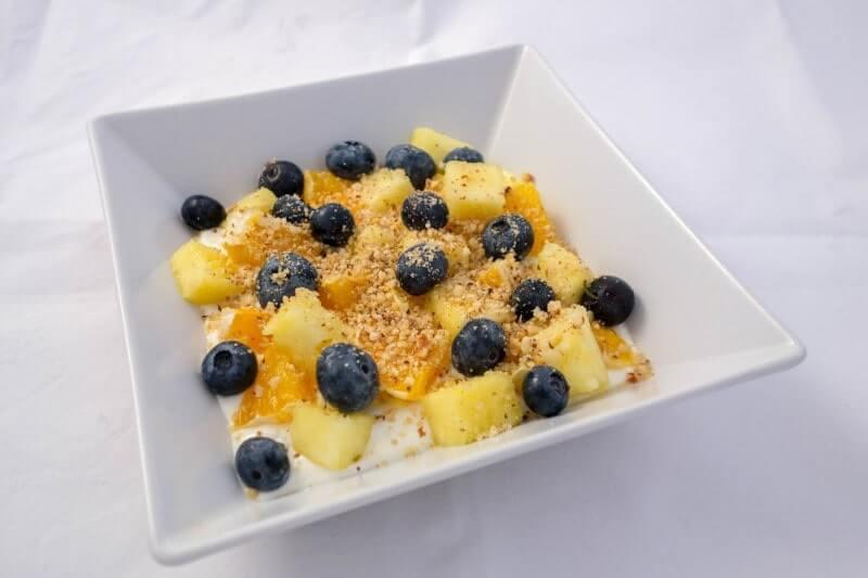 Proteinska voćna salata