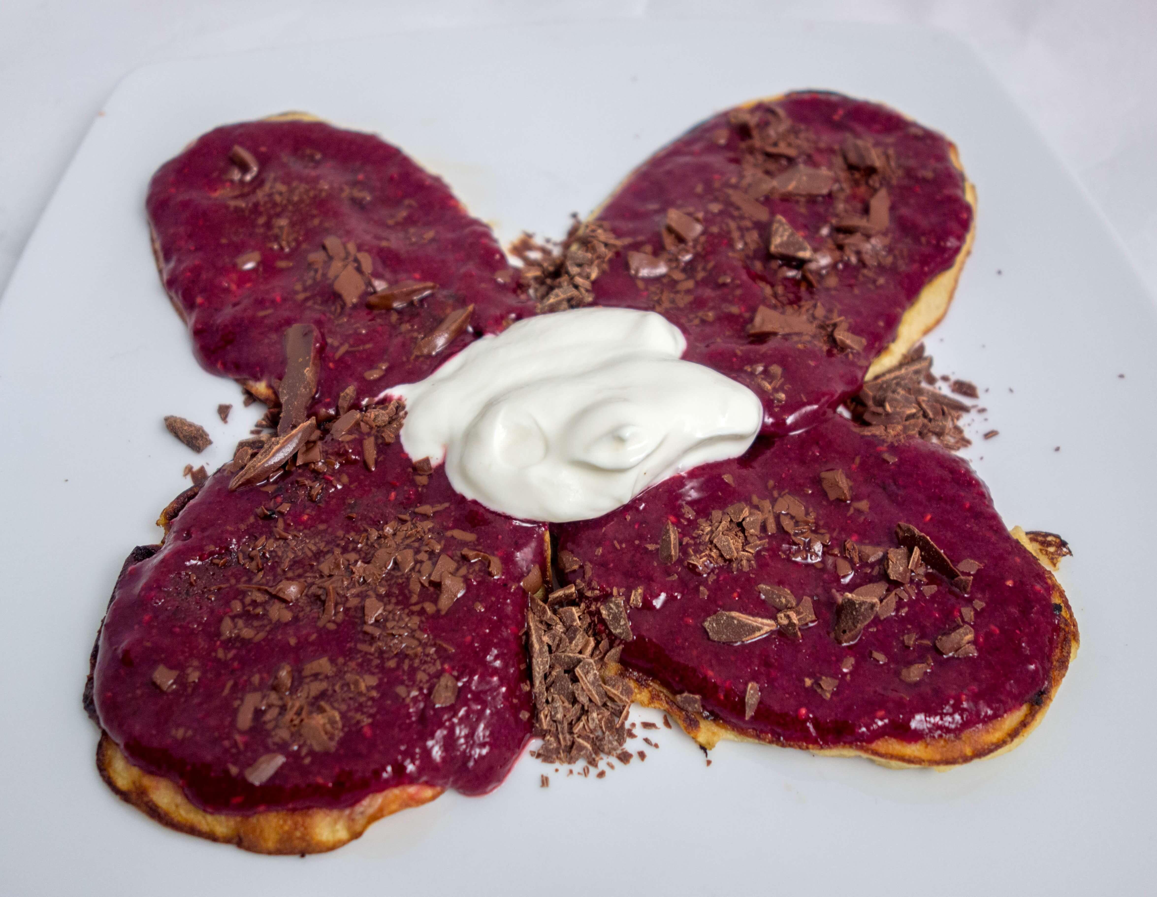 Proteinske palačinke sa chia džemom