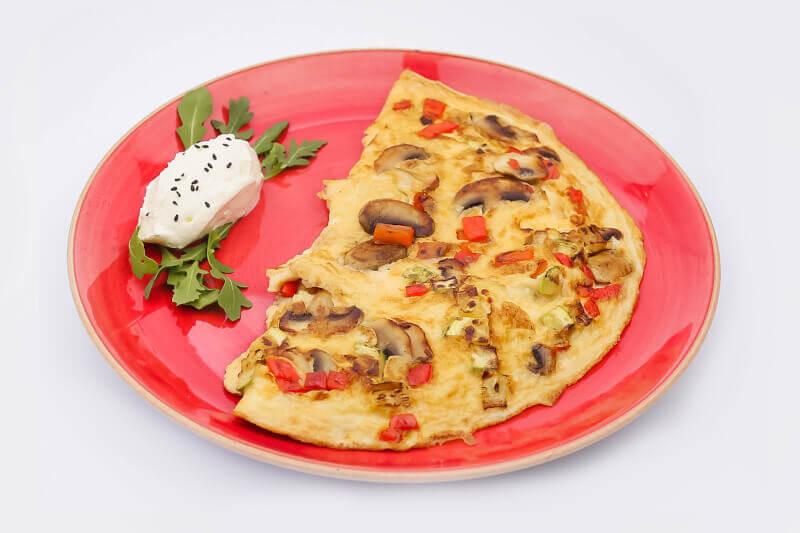 Fit omlet sa povrćem