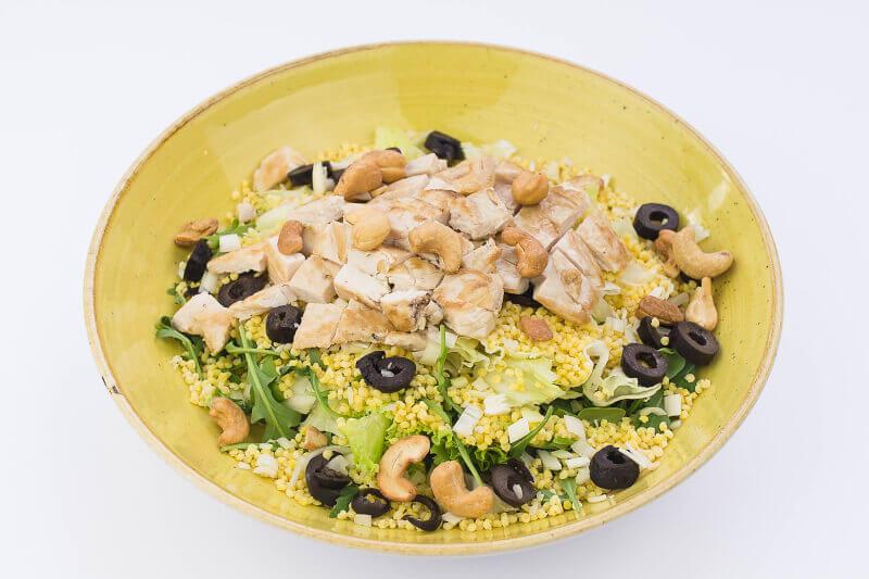Salata sa ćuretinom i prosom